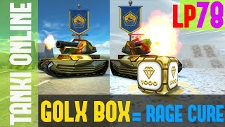 Tanki Online LP #78 / GOLD BOX CURE FOR RAGE