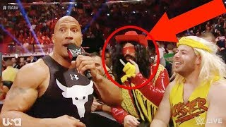 THE ROCK MOST SAVAGE WWE MOMENTS