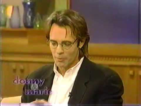 Rick Springfield 1999 Interview on Donny & Marie's Talk Show