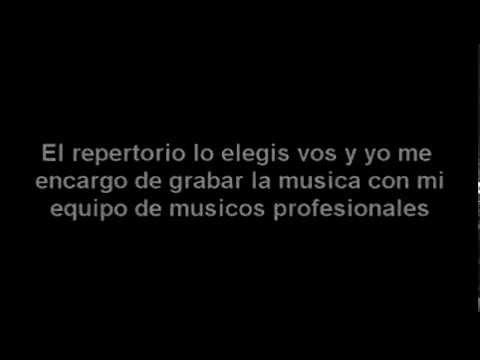 """TANGO KARAOKE - """"Siempre se vuelve a Buenos Aires"""" (A.Piazzolla /E. Blazquez) DEMO"""