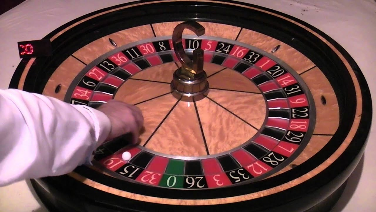Online roulette wheel spinner