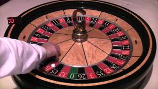 Roulette Wheel and Ball System For Profe...