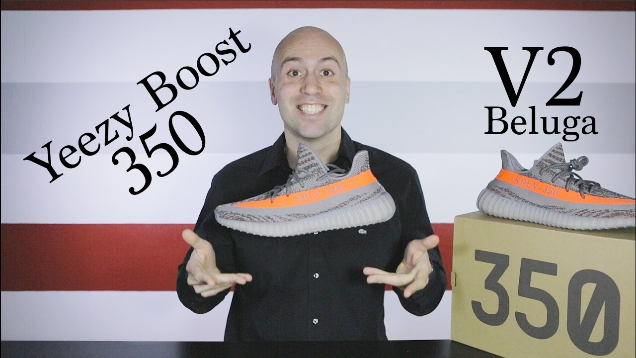 1aba1eeeb1817 Yeezy Boost 350 V2 Beluga - Unboxing + Review + On Feet + Close up ...