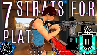 Download Learn the 7 STRATS I used to get to plat 2 bAd.T5 Tips/Tricks | Rainbow Six Siege