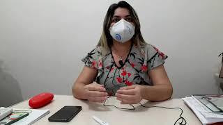 Morada Nova Luciana Almeida secretária de saúde afirma que casos de COVID 19 aumentaram em função do