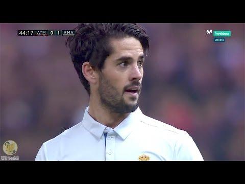 Isco Alarcón vs Atlético Madrid (A) 720p HD 19/11/16 by RealMadrid.Universe