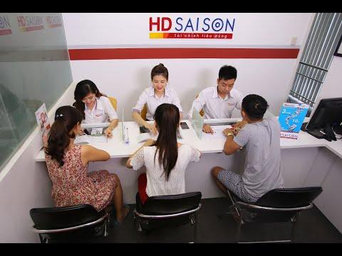 Vay tiền trả góp tại công ty tài chính HD SAISON | Phí bảo hiểm khoản vay rẻ hơn FE CREDIT rất nhiều