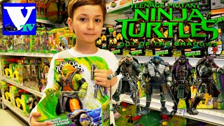 VLOG Магазин игрушек ЧЕРЕПАШКИ НИНДЗЯ 2016! NEW Teenage Mutant Ninja Turtles