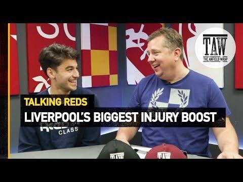 rpool&39;s Biggest Injury Boost?  Talking Reds