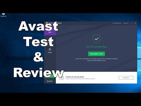 Avast FREE Antivirus Test & Review - Antivirus Security Review