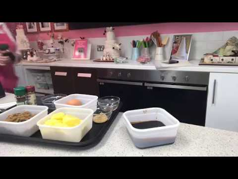 How to make Gingerbread house recipe tutorial Live Facebook feed
