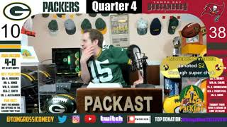 A Packers Fan Live Reaction to the Packers vs Buccaneers