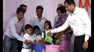 2 Hath Dhulai Diwas Program in School Bilaspur by Collector ( Global Handwashing Day )