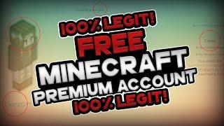 Repeat youtube video 100% LEGIT! - HOW TO GET MINECRAFT PREMIUM ACCOUNTS FOR FREE - 2016 [BEST ALTGEN EVER!]
