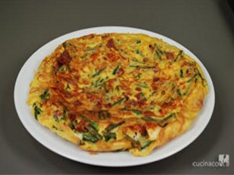 Asparagus omelette italian recipe