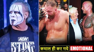 OMG!😲 Sting RETURNS... Jon Moxley LOST* Title, Roman/Vince/Rock Reacts to Pat Patterson, Raw Ratings