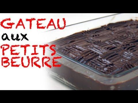 Recette: Gâteau aux Petits Beurre