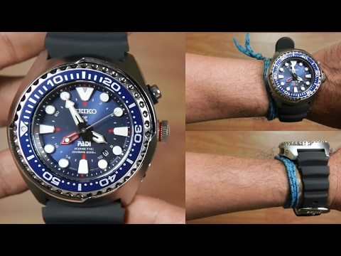 Seiko Kinetic SUN065P1 PADI GMT Divers - UNBOXING - YouTube 8f76dc5a97