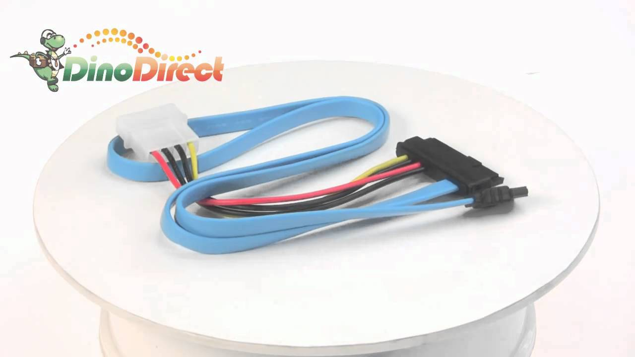 SAS 29-pin to SATA Power Adapter Cable 1.6ft from Dinodirect.com ...