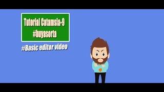 Tutorial Camtasia 9 | Dasar dan bidang kerja Camtasia Studio 9 #1