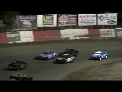 4 Cylinder Bombers Feature - East Bay Raceway Park 4-11-15