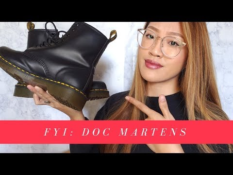 FYI BEFORE YOU BUY: DR. MARTENS | Nancy Hui