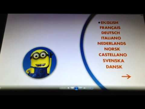 Opening To Despicable Me Mini Movies Collection 2014 UK DVD