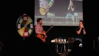 JIB week 2017 - Saturday - Rob Benedict and Adam Fergus singing