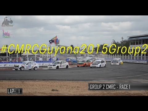 2015 Caribbean Motor Racing Championships (CMRC) - Group 2 Finale (Guyana)