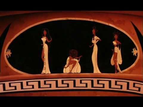 Las Musas - Tan Cierto Como Tú 1 (Tema de la Película Hercules)