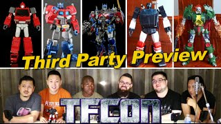 first look at third party transformers at tfcon 2016 a3u review s7 e12