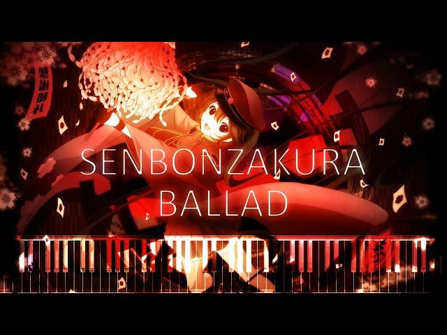 Synthesia [Piano Tutorial] Senbonzakura Ballad ( ??? ) - Kurousa-P & Hatsune Miku