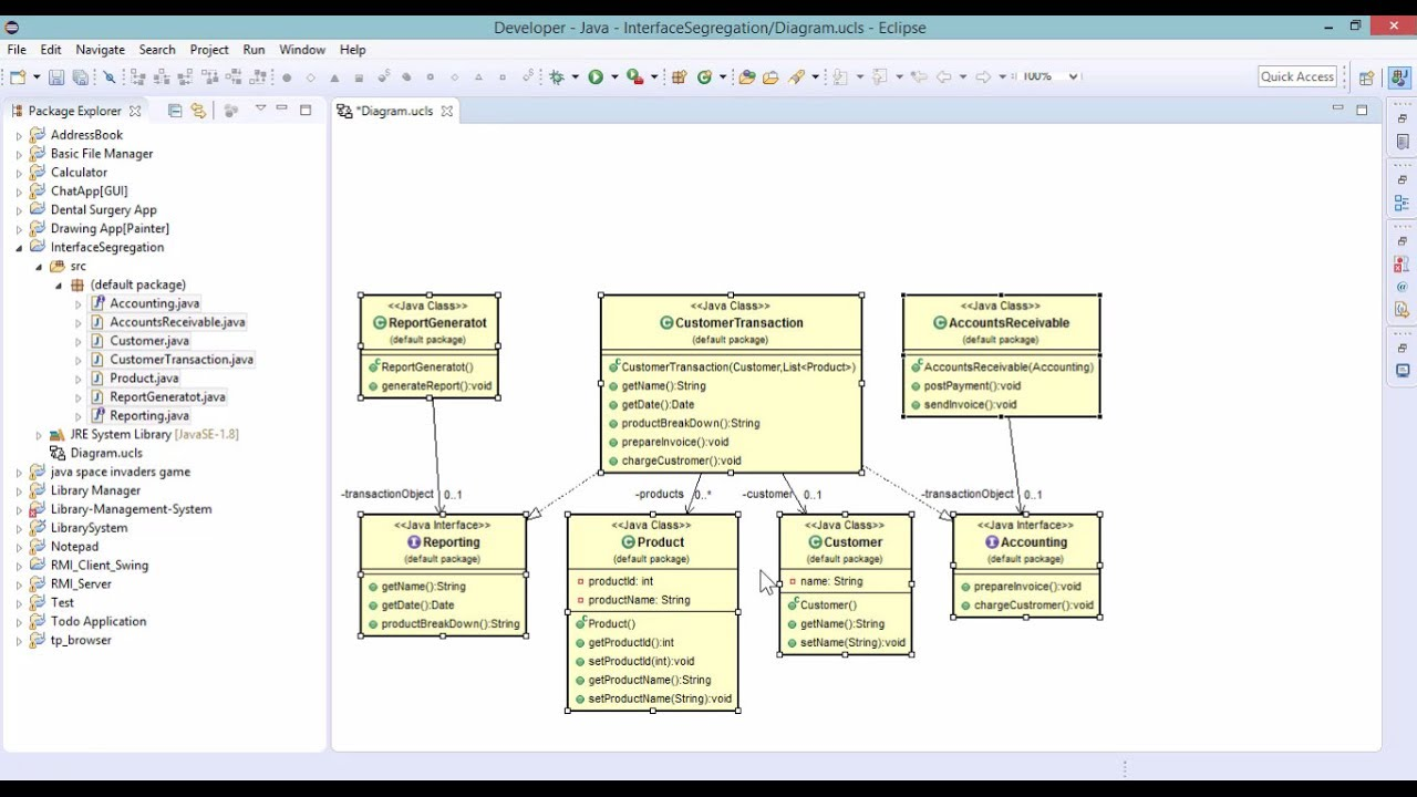 How to automatically generate uml diagrams from javacode youtube how to automatically generate uml diagrams from javacode ccuart Images