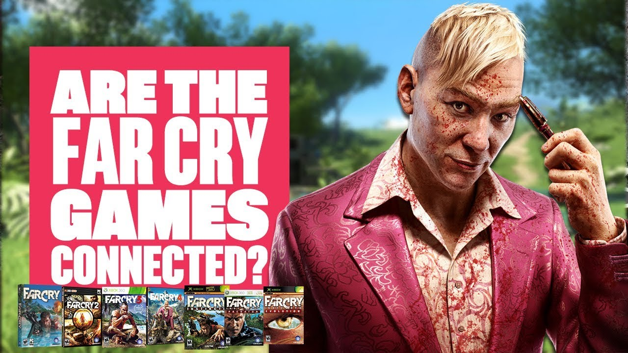 Are the Far Cry games connected? - YouTube