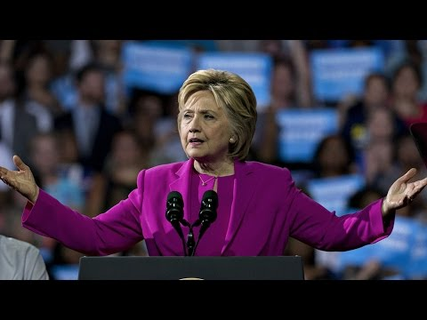 Hillary Clinton speaks at rally in Cleveland, Ohio