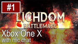Lichdom Battlemage Xbox One X Gameplay (Let