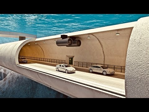 World's First Floating Tunnel Project In Norway