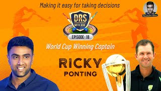 I grew up in Housing Boards - The Ricky Ponting Story | DRS with Ash | R Ashwin | E19