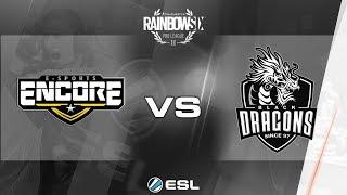 Rainbow Six Pro League - Season 3 - LATAM - Encore e-Sport vs. Black Dragons - Week 6 thumbnail