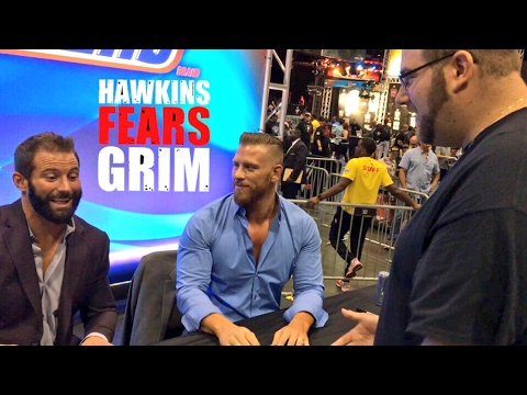 GRIM VS HAWKINS ELIMINATION CHAMBER MATCH? WWE AXXESS WRESTLEMANIA VLOG WITH OTHER YOUTUBERS!