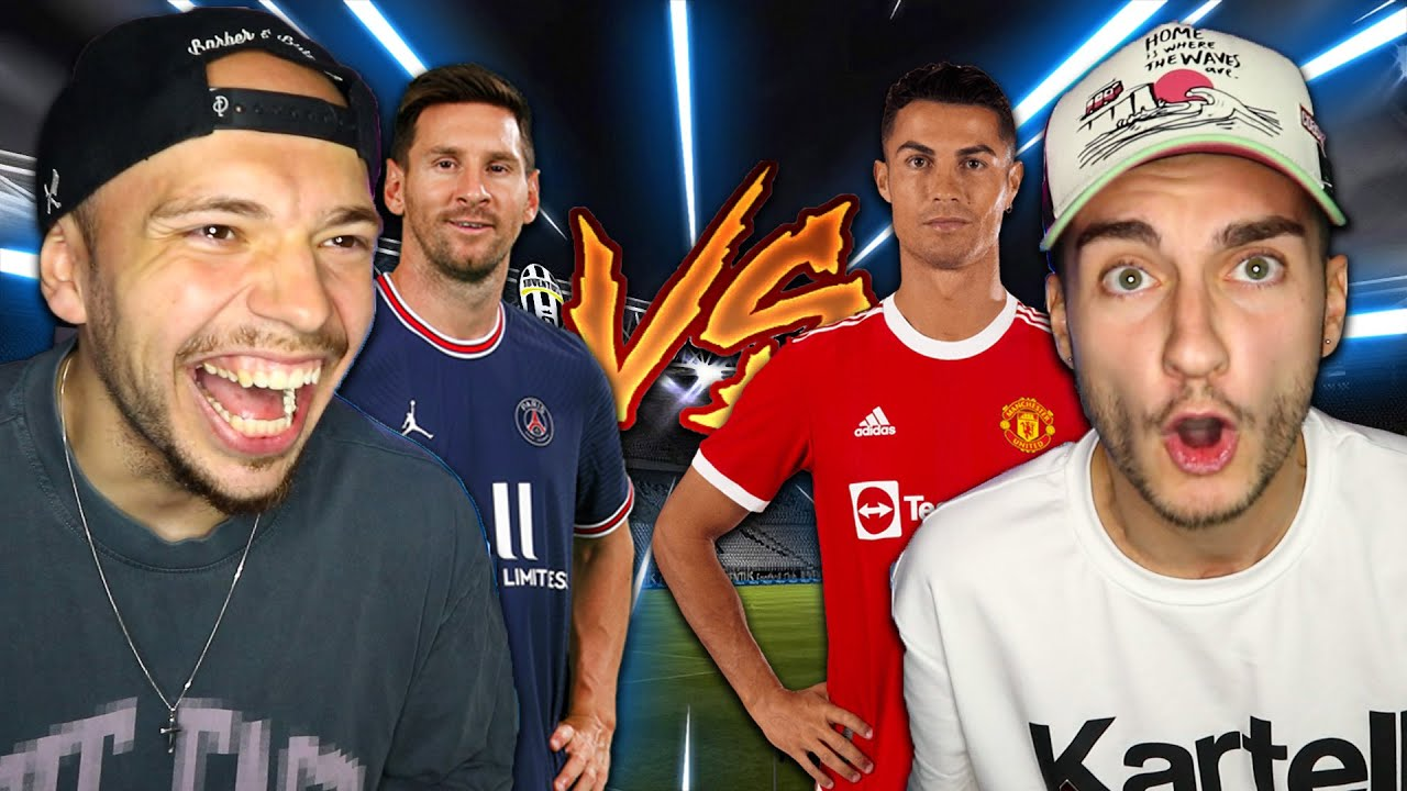 RONALDO VS MESSI FIFA 22 CHALLENGE! WER IST DER 🐐?