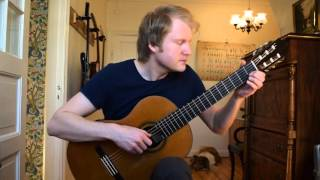 Fernando Sor - Study No. 6 in A, Op. 35  (Acoustic Classical Guitar Cover by Jonas Lefvert)