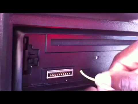 How to take a kenwood radio out of protect mode - YouTube