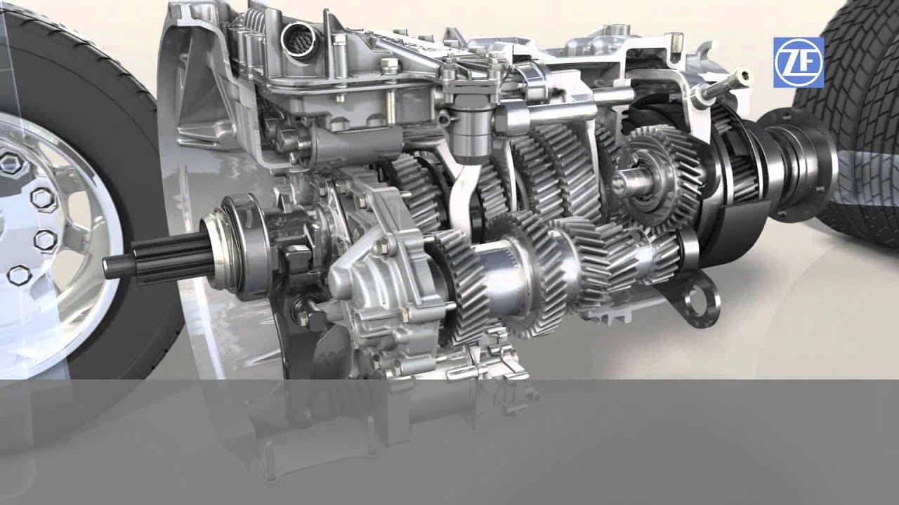 3 4 Internal Engine Diagrams Zf As Tronic For Trucks En Youtube