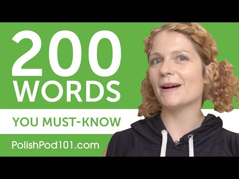 200 Words Every Polish Beginner Must-Know