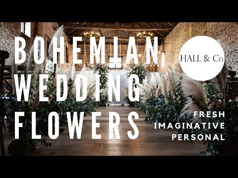Bohemian Wedding Flowers | Hall & Co. Event Design