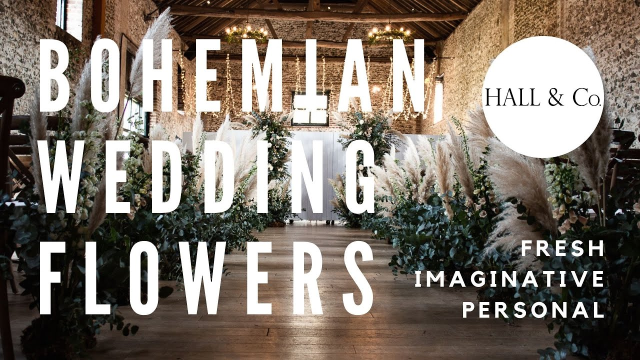 Bohemian Wedding Flowers | Hall & Co. Event Design
