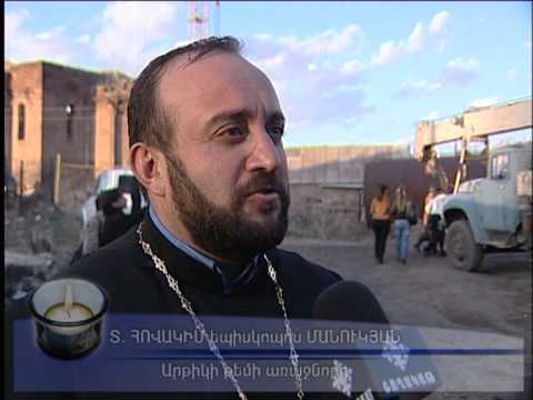 Divine Liturgy and Consecration of the Cross in the Diocese of Artik