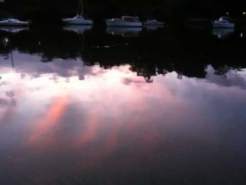 Burns Bay, Lane Cove, Sydney, Australia at dusk