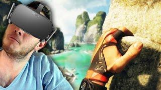 СИМУЛЯТОР СКАЛОЛАЗА В ВИРТУАЛЬНОЙ РЕАЛЬНОСТИ | (Oculus Rift VR)
